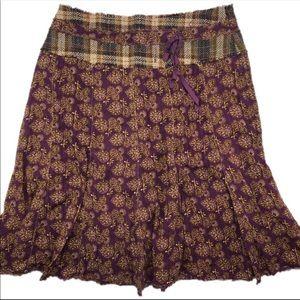 Anthropologie Lux Aline Skirt